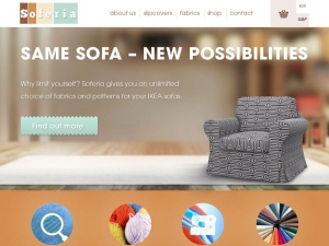 Soferia - klippan covers for IKEA sofas