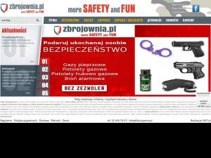 Sklep Zbrojownia.pl - More Safety and Fun